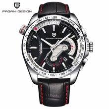 2016 Montres Hommes Marque De Luxe Pagani Chronographe Montre À Quartz Multifonctionnel De Mode Hommes de Sport Horloge Hombre Relogio Masculino