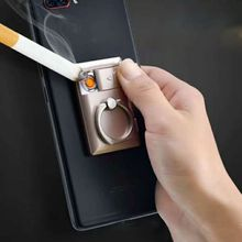 2 In 1 Electric Cigarette Coil Lighter USB Rechargeable Flam