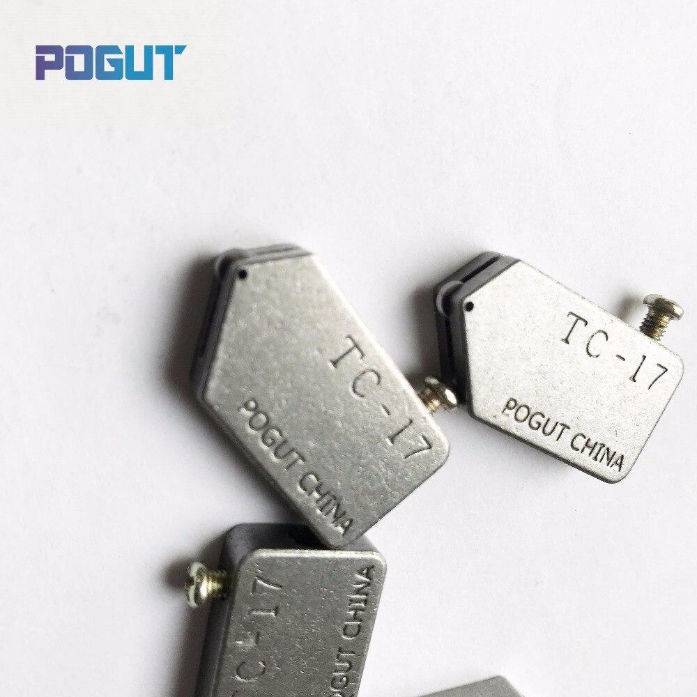 Free Shipping 3-10mm POGUT CHINA Replacement TC-17 Glass Tile Cutter Head toyo type 5pcs/lot