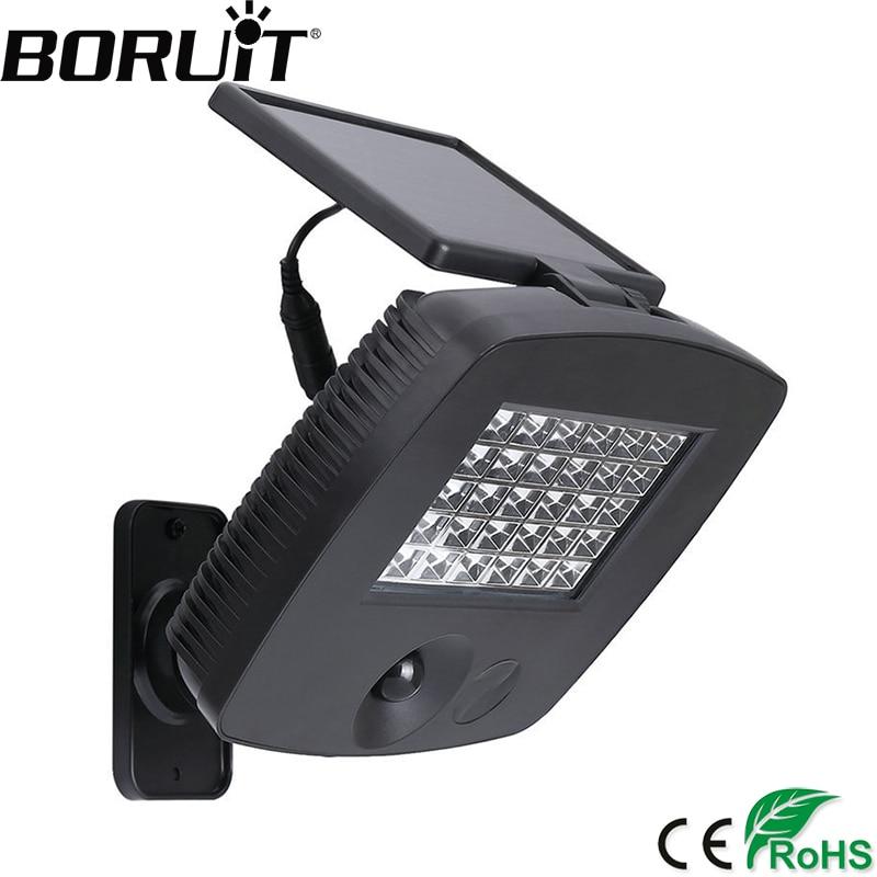 30 LED Solar Light Infrared Sensor Security Garden Light with PIR Motion Sensor Emergency Lamp for Path Wall Street Yard