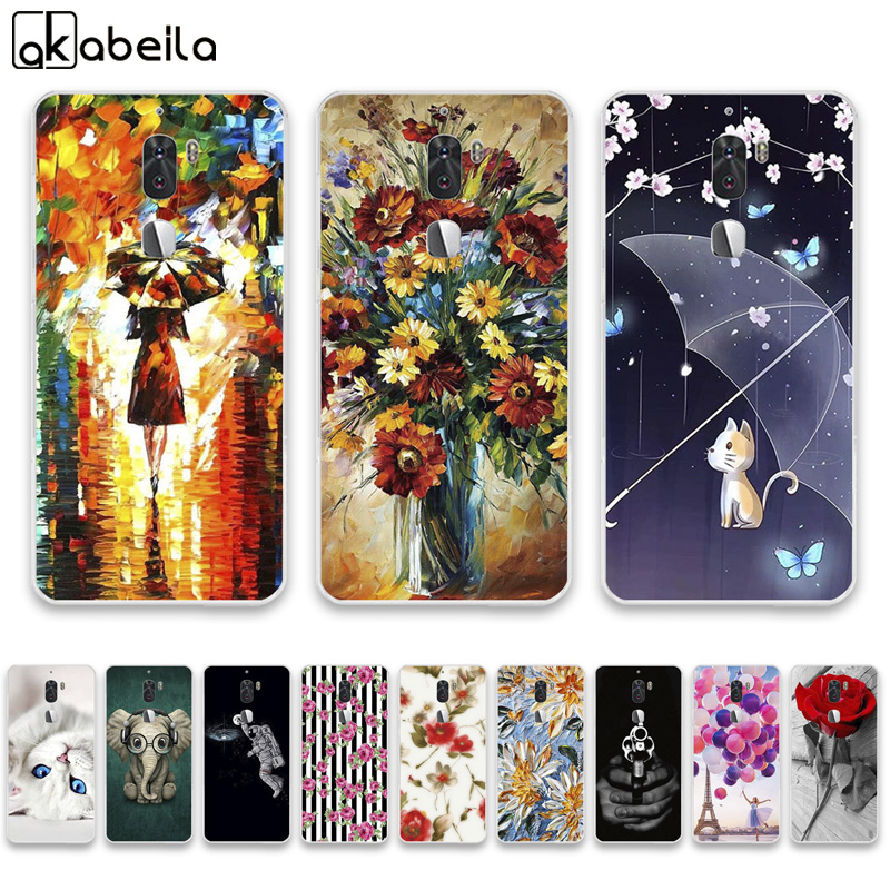 AKABEILA Soft TPU Phone Cases For Letv Cool 1 Letv LeEco cool 1 Dual Leeco Coolpad Cool1 5.5 inch Covers Nutella Back Silicone