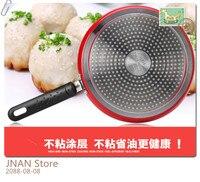 New 24cm Frying Pan Pizza Pancake Non Stick Pan Aluminum Pans Steak Frying Pot Gas Cooker Induction Cooker Pans