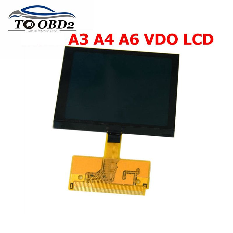 Newest LCD Display A3 A4 A6 VDO For VW LCD Display Screen For Audi A3 A4 A6 For Seat VDO LCD Dash Dashboard Repair