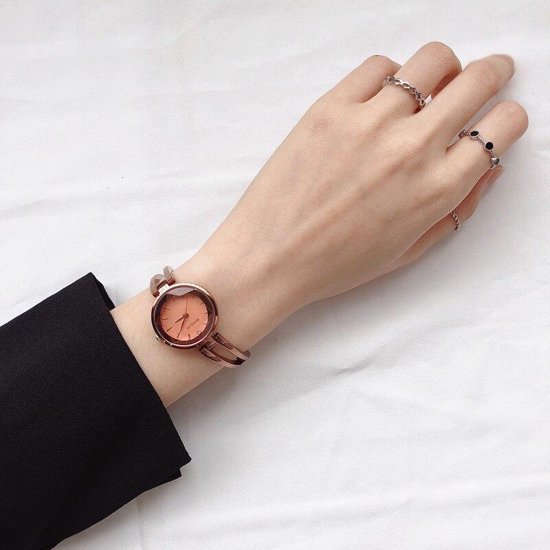 New Fashion Watches Women Luxury Brand Stainless Steel Bracelet Watches Ladies Quartz Dress Watches relojes mujer Clock