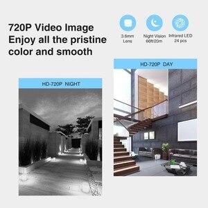 Image 2 - ANNKE 720P TVI AHD CVI 3в1 купольная камера 1280TVL уличная фиксированная камера с защитой от атмосферных воздействий умная ИК камера видеонаблюдения