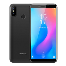 HOMTOM C2 4G Smartphone Android 8.1 Phablet 5.5″ MTK6739 Quad Core 1.5GHz 2GB RAM 16GB ROM 13.0MP+2.0MP Camera 3000mAh Cellphone