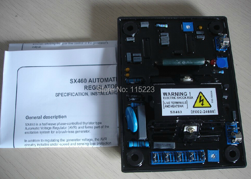Stamford SX460 Automatic Voltage Regulator AVR For Generator stamford avr as480 discount automatic voltage regulator
