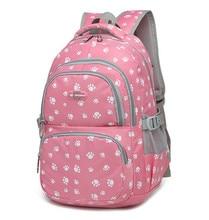 Capretti di modo del sacchetto di libro traspirante zaini sacchetti di scuola dei bambini delle donne per il tempo libero di spalla di viaggi zaino mochila escolar infantil