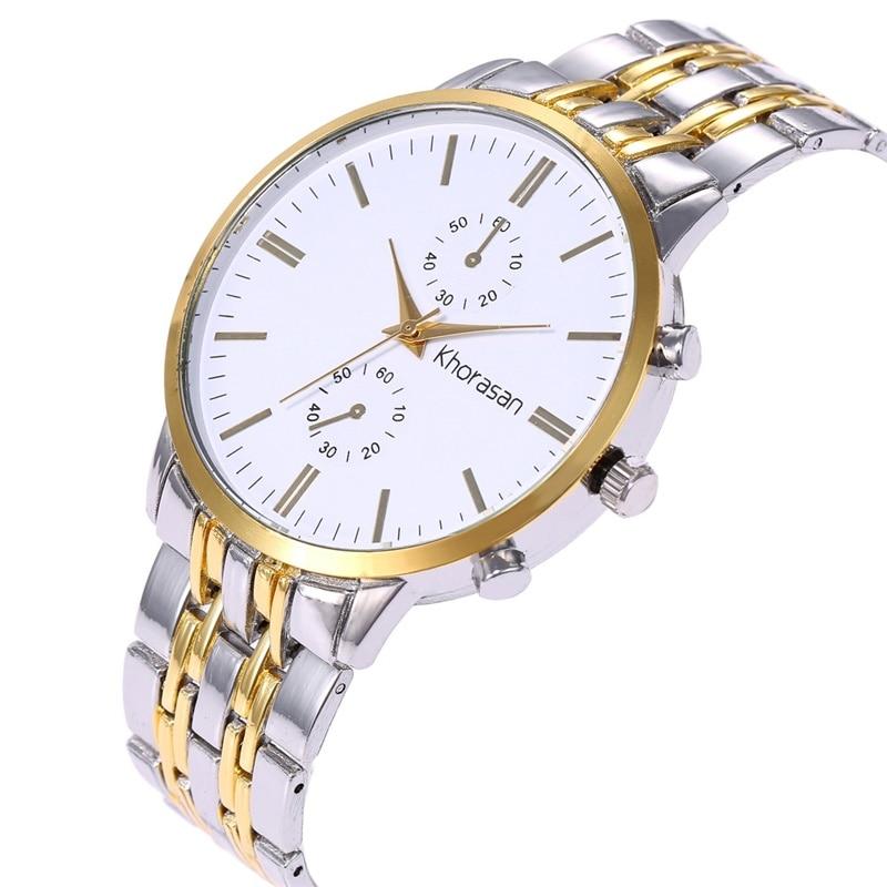Men 39 s Watch 2019 Luxury Luxury Alloy Men 39 s Quartz Watch Men 39 s Business Watch Men 39 s Casual Fashion Watch in Quartz Watches from Watches