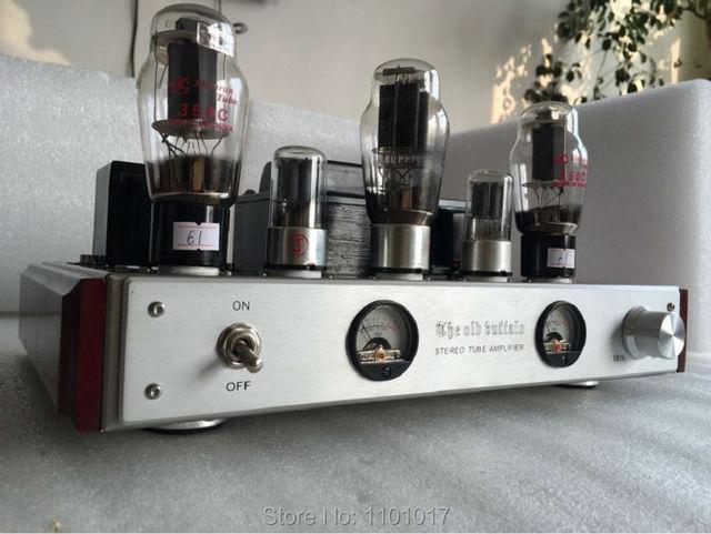 350C OldBuffalo amplificador valvulado HIFI EXQUIS Classe A Handmade amp  OBF350C 5358b971dc