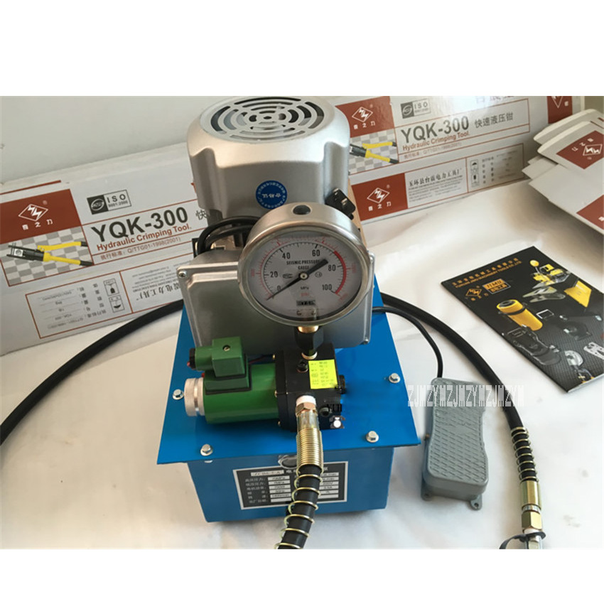 ZCB6-5-A Ultra-high Voltage Electric Pump Pydraulic Pump Piston Pump 220V/380V 0.75KW 70MPA 7 L (Pedal Type-With Solenoid Valve)ZCB6-5-A Ultra-high Voltage Electric Pump Pydraulic Pump Piston Pump 220V/380V 0.75KW 70MPA 7 L (Pedal Type-With Solenoid Valve)