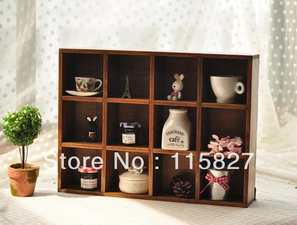 Min order$20(mixed items)wooden shelf desk organization wooden storage tray wooden hanger shelf house decoration