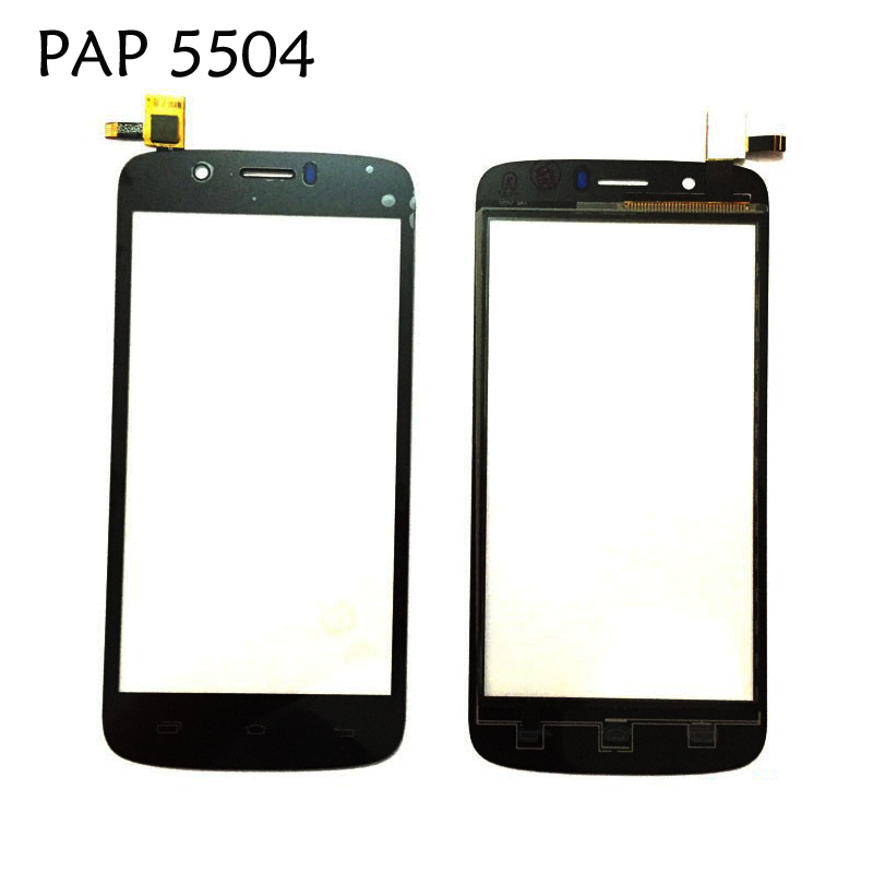 PAP5504 Touch Panel For Prestigio MultiPhone PAP 5504 DUO Touch Screen Digitizer Front Glass Len 1PC/Lot