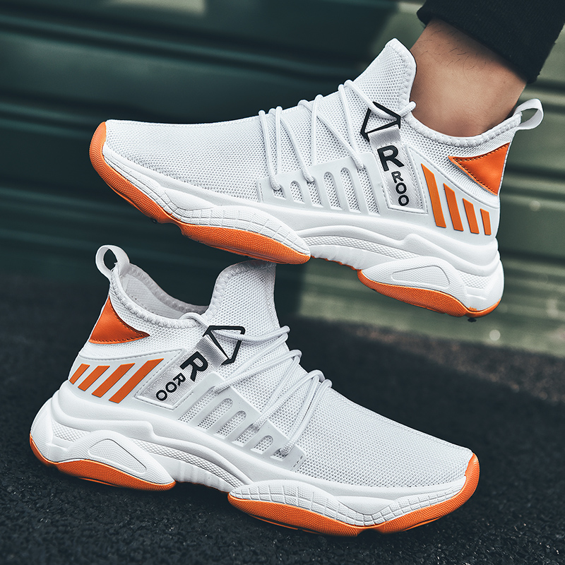 YRRFUOT Autumn New Trend Casual Men Shoes High Quality Hot Sale Fashion Sneakers Comfortable Breathable Vulcanize Shoes for Men-in Men's Casual Shoes from Shoes
