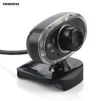 Webcam USB 2.0 Desktop Máy Ảnh High Definition Night Phiên Bản Web Cam Với Âm Thanh Hấp Thụ MIC Cho Máy Tính Xách Tay Máy Ảnh Máy Tính