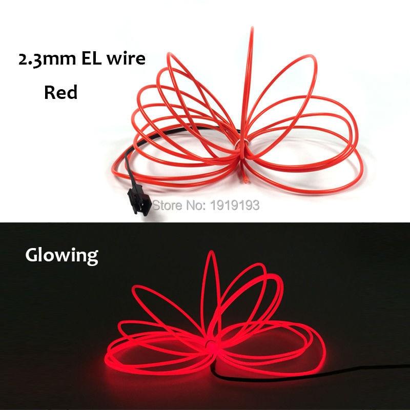 Neon Light Dance Party Inredning Billampor Neon LED-lampa Flexibel EL - LED-belysning