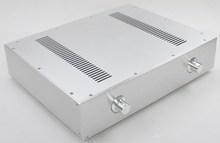 WA59 Aluminum enclosure Preamp chassis Power amplifier case/box size 343*430*92MM