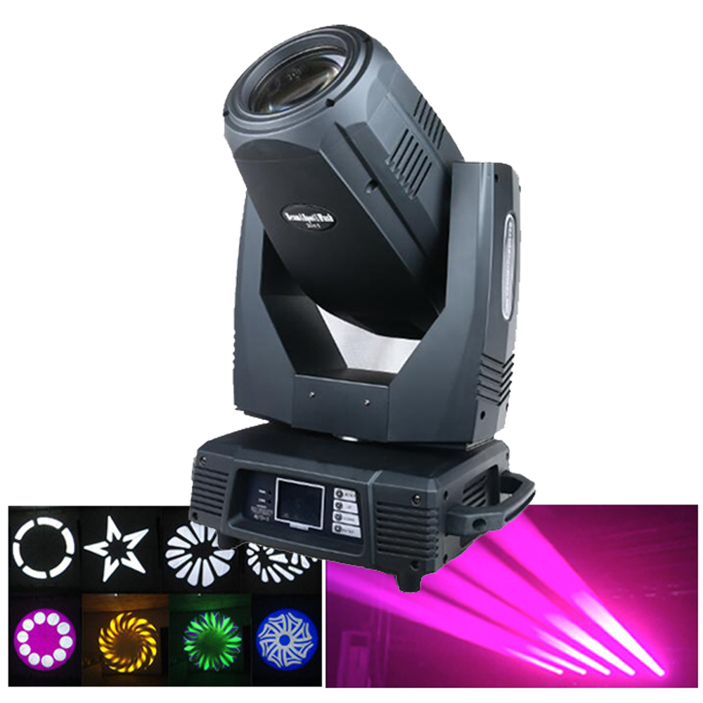 Free Shipping Moving Head Light 17R 350W Pro Sound and Stage Lighting Equipment System Theatre Spotlight Studio Band Beam Wash