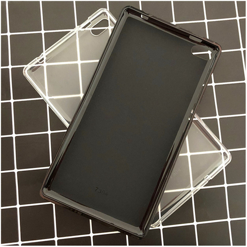 Pour Lenovo Tab 7 Cas Indispensable Tpu Couverture pour Lenovo Tab4 7 Essentiel TB-7304F TB-7304I TB-7304X Tablet Cas + Stylus Film