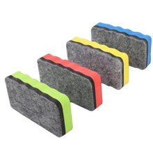 Affordable Magnetic Whiteboard Eraser for dry magnetic board Multi Color Office School Supply Color rabdom