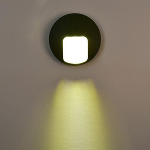 Outdoor modern LED light aisle courtyard garden porch led lights sconce lampara wall lamp Lampe murale Couloir WCS 3w AC85-265