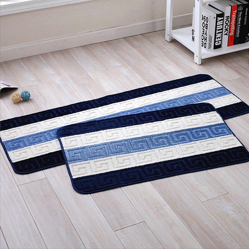 Paillasson tapis de sol salle de bain tapis cuisine tapis chambre balcon couloir tapis antidérapant Latex Base haute qualité polypropylène