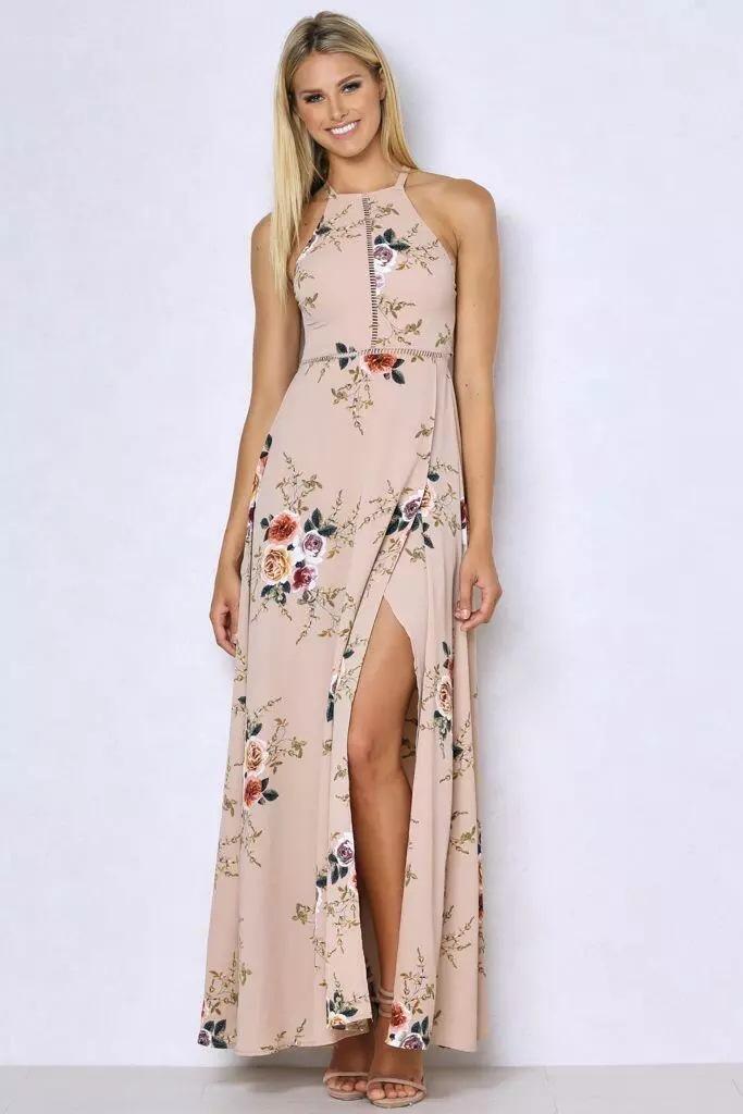 HTB1explPVXXXXb2XpXXq6xXFXXXp - Women Long Sleeveless Floral Maxi Dresses JKP075