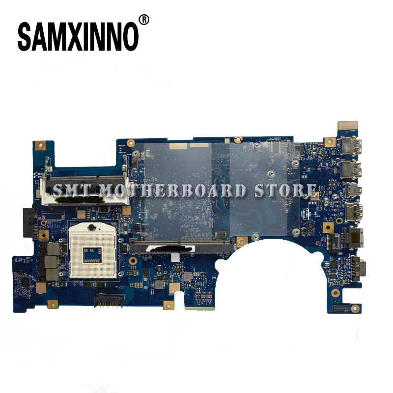 For Asus Laptop Motherboard System Board Main Board Mainboard Card Logic Boar G75V G75VW REV2.0 2D Connector PGA989 Tested Well logic board runtk4908tp cpwbx4908tp kf757 qpwbxf757wjzz for screen connector cable