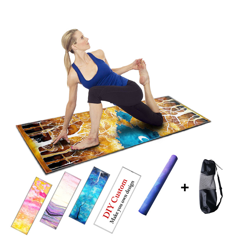 Aliexpress.com : Buy Colorful Rubber Fitness Mat Yoga Mats