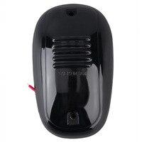 5 cái Hổ Phách LED Cab Roof Top Đánh Dấu Đèn Chạy Cho Xe Tải (Black Hun Khói Lens Đèn) Amber LED ánh sáng Cho SUV