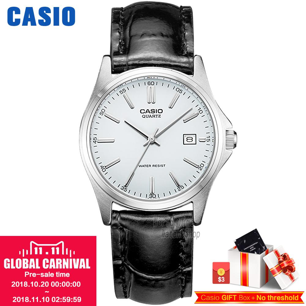 Casio watch Fashion simple pointer waterproof quartz ladies watch LTP-1183E-7A LTP-1183Q-7A LTP-1183Q-9A LTP-1183A-1A casio watch 2018 new fashion trend quartz watch simple fashion waterproof strip ladies watch women watch ltp 1410l ltp 1410d