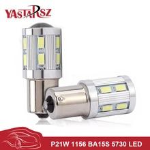 High Quality P21W 1156 BA15S 7506 R5W R10W 5630 5730 LED Car Brake Lamp Reverse Lights Turn Signal Parking DRL Driving Bulb 12V