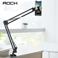 ROCK Flexible Tablet Phone Holder For ipad 2 3 4 Air Mini Pro For iPhone Xiaomi Long Arm Lazy People Bed Desktop For 4 12.9 Inch
