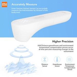 Image 3 - Xiaomi Oryginalny termometr Mijia iHealth bezdotykowy na podczerwień, przyrząd do mierzenia temperatury czoła dla dzieci i dorosłych, cyfrowy wyświetlacz, diody LED, urządzenie medyczne
