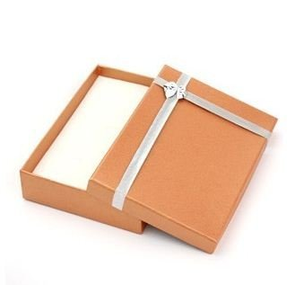 fashion jewelry box necklace/earrings/finger ring box square jewelry case box 5 colors 50pcs