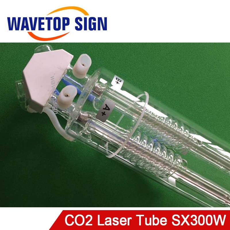 WaveTopSign CO2 Laser Rohr SX300 300W 2 Core Länge 1800mm Dia.120mm verwenden für Laser Gravur und Schneiden Maschine