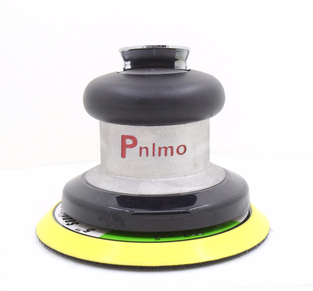 Pneumatic Sanders TAIWAN Air Tools Palm Orbital Sander Polisher 5 Inch Circle Round Pad OSN-50HE VE цена