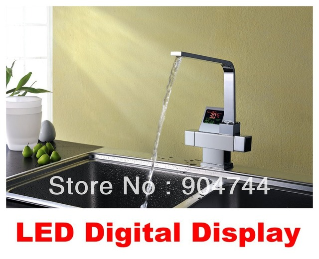 New!! Patented LED Digital Display Chrome Finish Dual Handles ...