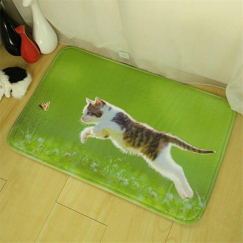 Katze Und Baby Im Schlafzimmer | Heimtextilien Tiere Hund Katze Tiger Druck Rutschfeste Bodenmatte
