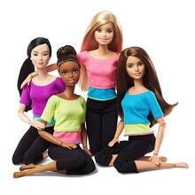 Оригинальные куклы Барби, сделанные для перемещения 22 шарнирных кукол, сочлененные подлинные куклы Барби в коробке, рождественские подарки на день рождения