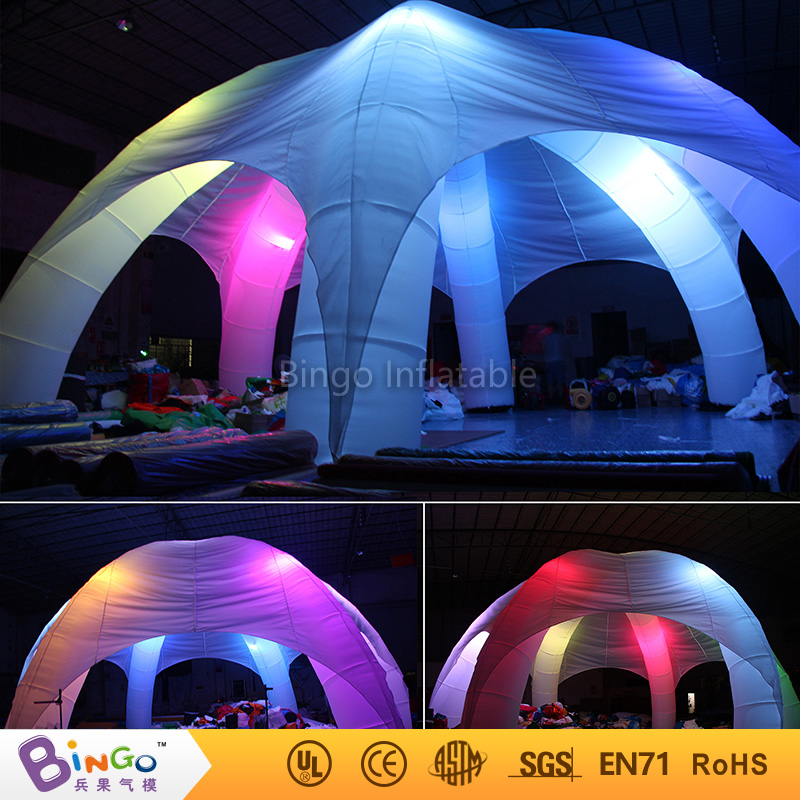 Free delivery Marquee Inflatable Igloo Tent Inflatable Car Roof Tents with five legs N LED Lights for Outdoor freddy toys-in Toy Tents from Toys u0026 Hobbies ... & Free delivery Marquee Inflatable Igloo Tent Inflatable Car Roof ...