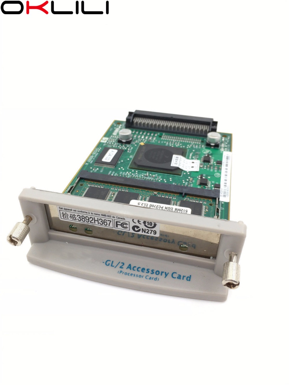 """NEW CH336-60001 CH336-80001 GL/2 Formatter Accessory Card Main Logic Board + 512MB RAM For HP Designjet 5100 510 510ps 24"""" 42"""""""