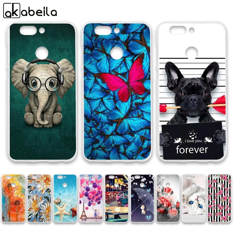 Phone Case For Huawei Nova 2 plus Cases Silicone Bumper For Huawei Nova 2s BAC-L03 BAC-L23 PIC-AL00 Covers Fundas Flamingo Coque