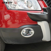 AITWATT For Nissan Qashqai And Qashqai 2 2010 2011 2012 2013 ABS Chrome Front Fog Light