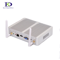 Kingdel New Arrival Intel Dual Core 14nm i3 5005U HTPC Mini Pc with HDMI VGA 1080P HD with High Speed SSD