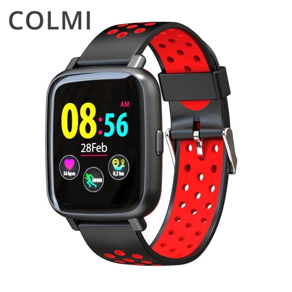 COLMI SN12 IP68 Водонепроницаемый в реальном времени монитор сердечного ритма крови Давление Smart часы плавание Bluetooth Спорт Для мужчин часы