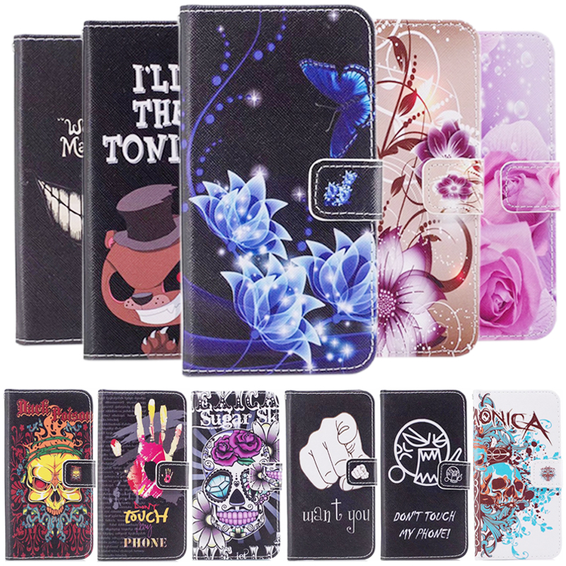 High Quality Fashion Rainbow Flower Leather Book Case For Apple iPhone 8 For iPhone 7 4.7 inch Phone Wallet Cover Case