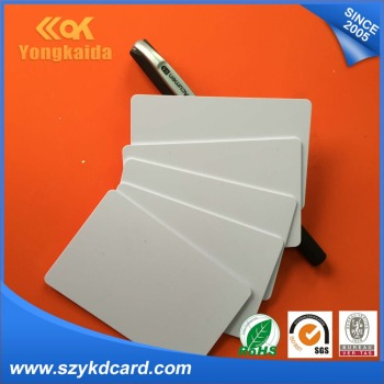 Wholesale 1000PVC ID/EM 4100 Chip double sided Inkjet Printing Blank Cards Support Epson/ Canon Printer rfid card rfid 125 фото