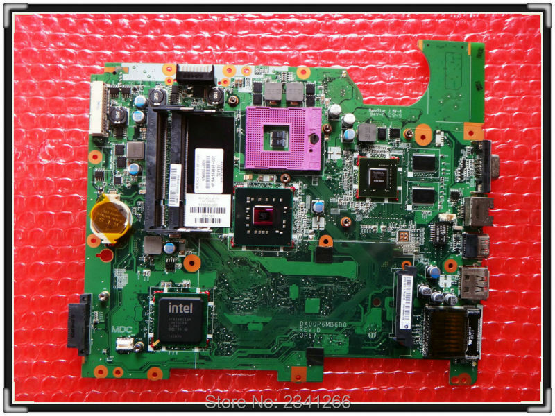 ФОТО 578000-001 for hp CQ61 G61 Notebook for HP CQ61 G61 laptop motherboard DA00P6MB6D0 PM45 chipse tN10M-GE2-S