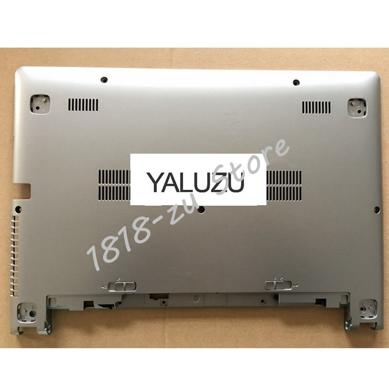 YALUZU NEW FOR Lenovo FOR Ideapad S400 S405 S410 S415 Laptop Bottom Base Cover silver color 2200mah black battery for lenovo ideapad s300 s310 s400 s400u s405 s410 s415 4icr17 65 l12s4l01 l12s4z01